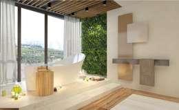 Дизайн-проект ванной комнаты. Пентхаус.: Ванные комнаты в . Автор – Катя Волкова