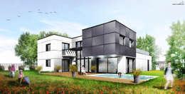 Maison Contemporaine: Maisons de style de style Moderne par SARA Architecture