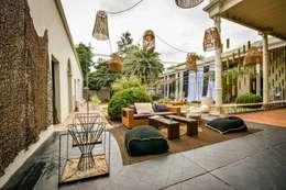 CASA PORTAL 2015: Terrazas de estilo  por PSV Arquitectura y Diseño