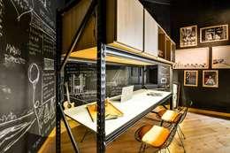 CASA PORTAL 2015: Estudios y oficinas de estilo moderno por PSV Arquitectura y Diseño