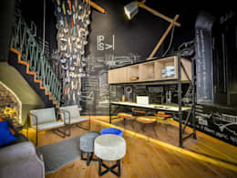 CASA PORTAL 2015: Livings de estilo moderno por PSV Arquitectura y Diseño