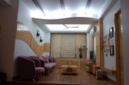 LIVING ROOMS: modern Living room by Design Cell Int