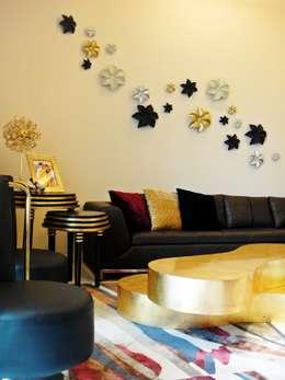 Residence Design, Sandesh Vihar: modern Living room by H5 Interior Design