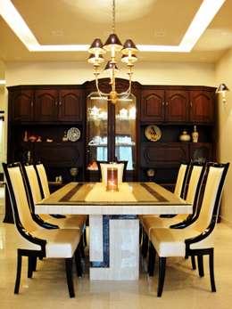 Residence Design, Sandesh Vihar: modern Dining room by H5 Interior Design