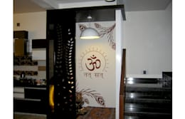 Spiritual Graphics: modern Walls & floors by BION Creations Pvt. Ltd.
