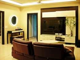 Residence Design, Sandesh Vihar: modern Media room by H5 Interior Design