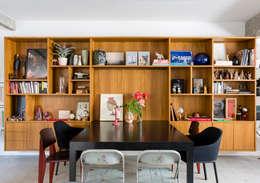 غرفة السفرة تنفيذ RSRG Arquitetos