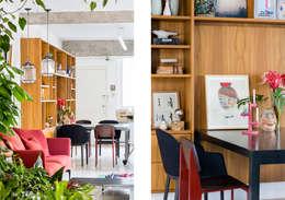 minimalistische Eetkamer door RSRG Arquitetos