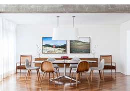 minimalistic Dining room by RSRG Arquitetos