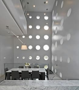 Babu Residence: modern Dining room by Planet 3 Studios P Limited