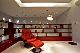 Babu Residence: modern Study/office by Planet 3 Studios P Limited