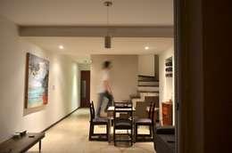 Uspallata 460: Comedores de estilo moderno por trama arquitectura
