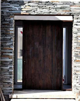 Casa Araoz: Ventanas de estilo  por Arquitectura + Deco