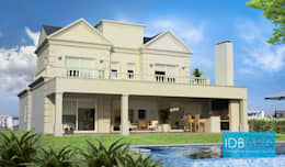 A079: Casas de estilo clásico por IDB ARQ