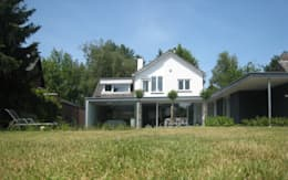 Woonhuis LBRL Asten: moderne Huizen door 2architecten