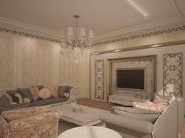 RUBA Tasarım – A.Ç. EVİ: klasik tarz tarz Oturma Odası