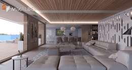 Salas de estilo moderno por Miralbó Excellence