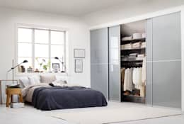 Recámaras de estilo moderno por Elfa Deutschland GmbH