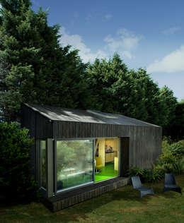 Estudios de cubierta inclinada 2: Casas de estilo moderno de ecospace españa