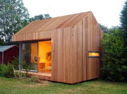 Estudios de cubierta inclinada 3: Casas de estilo moderno de ecospace españa