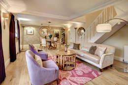 modern Living room by Chameleon Designs Interiors