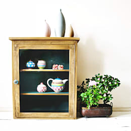 Turkusowa Szafka: styl , w kategorii Kuchnia zaprojektowany przez Treefabric