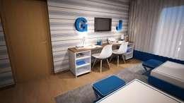 غرفة الاطفال تنفيذ Ângela Pinheiro Home Design