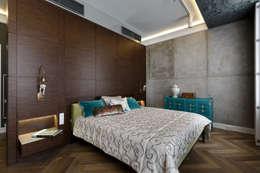 Квартира на Морском проспекте: Спальни в . Автор – Юдин и Новиков