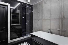 Квартира на Морском проспекте: Ванные комнаты в . Автор – Юдин и Новиков