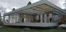 Дом в Финляндии: Tерраса в . Автор – Юдин и Новиков