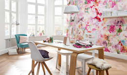 modern Study/office by DeColor