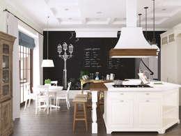 Волки: Кухни в . Автор – Brama Architects