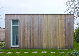 minimalistic Houses by +studio moeve architekten bda