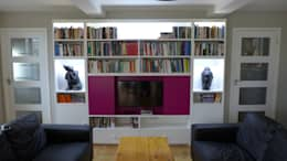 modern Media room by Style Within