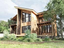 modern Houses by Студия архитектуры и дизайна ДИАЛ