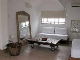 غرفة المعيشة تنفيذ DX ARQ - DisegnoX Arquitectos
