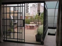 Reforma Hostel Palermo: Terrazas de estilo  por DX ARQ - DisegnoX Arquitectos