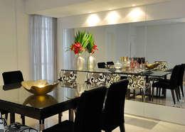 Aparador da Sala de Jantar: Salas de jantar modernas por Gislene Soeiro Arquitetura e Interiores