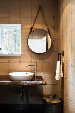 eclectic Bathroom by Antonio Martins Interior Design Inc