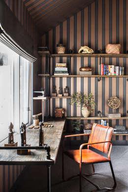 eclectic Study/office by Antonio Martins Interior Design Inc