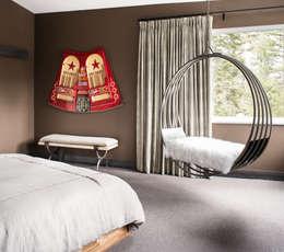eclectic Bedroom by Antonio Martins Interior Design Inc