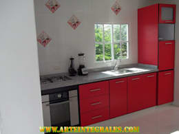 modern Kitchen by arteintegrales