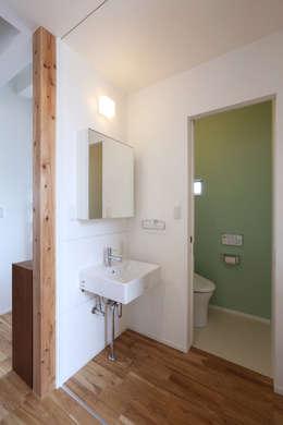 Projekty,  Łazienka zaprojektowane przez nano Architects