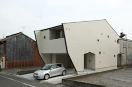 Projekty, nowoczesne Domy zaprojektowane przez nano Architects