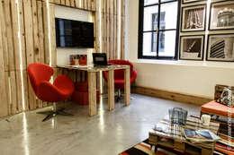 Projekty,  Domowe biuro i gabinet zaprojektowane przez G7 Grupo Creativo