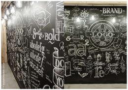 SECTOR PIZARRA: Estudios y oficinas de estilo industrial por G7 Grupo Creativo