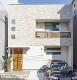 modern Houses by 福島工務店株式会社
