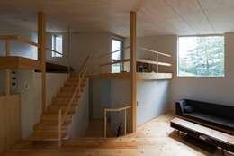 Corridor & hallway by キタウラ設計室
