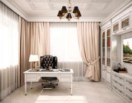Bureau de style de style Classique par Студия дизайна Дарьи Одарюк