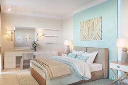 Dormitorios de estilo industrial de Студия авторского дизайна ASHE Home
